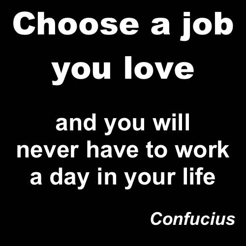 choose a job you love - I Love My Job Do You Really Like Your Job